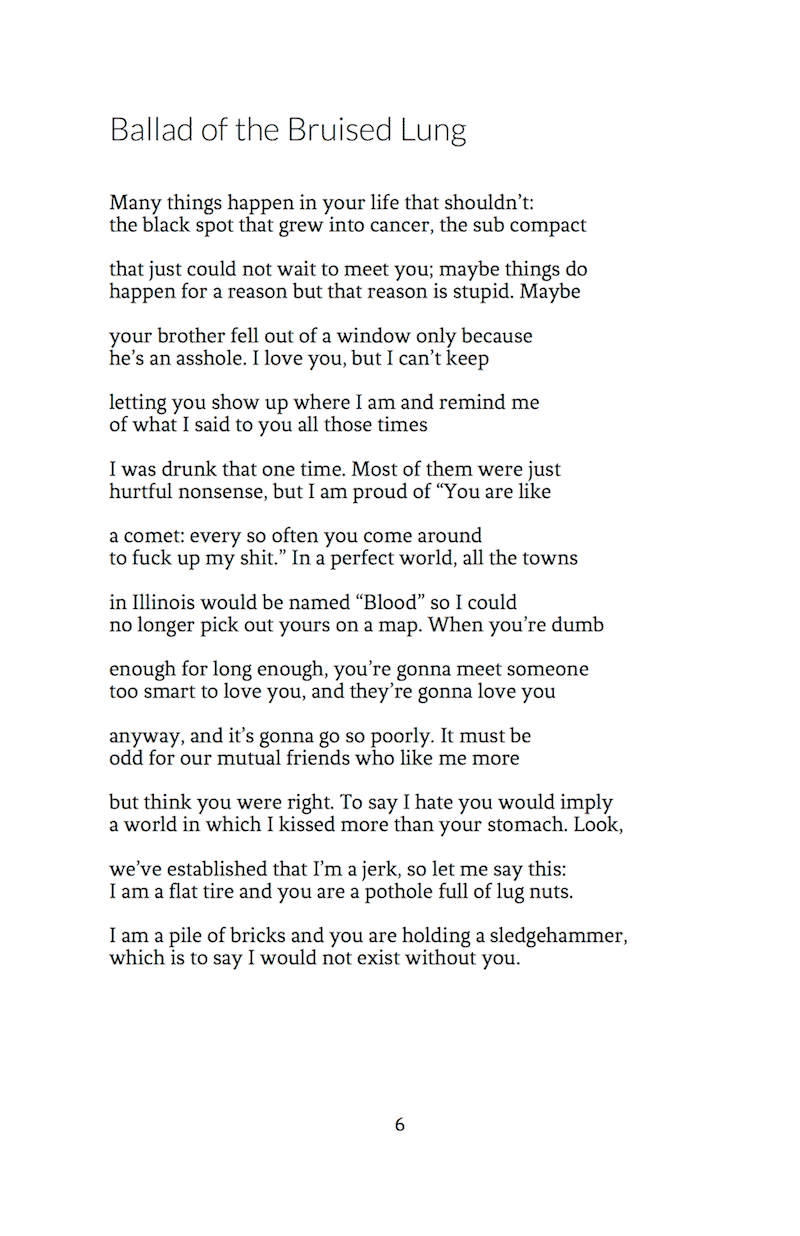 why am i not good enough poem