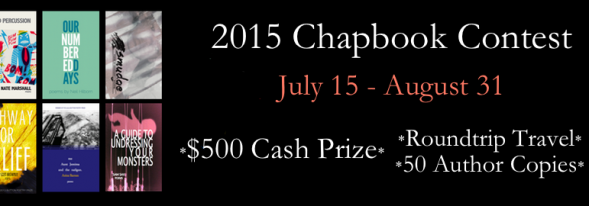 2015 Chapbook Contest