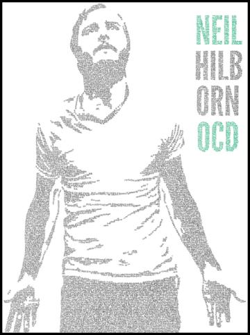 "Neil Hilborn ""OCD"" Poster"