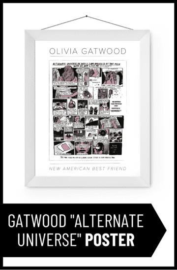 "Olivia Gatwood ""Alternate Universe"" Poster"