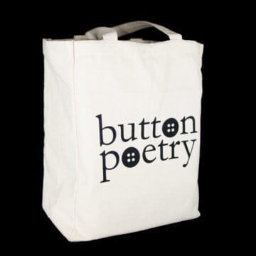 Button Poetry Tote Bag