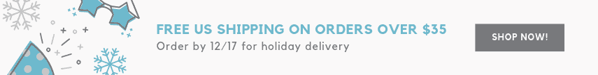 Free Shipping on US Orders over $35