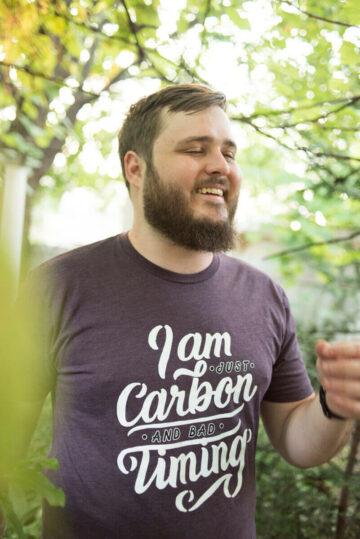 "Neil Hilborn ""Clatter"" Unisex T-Shirt"