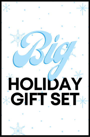 Big Holiday Gift Set