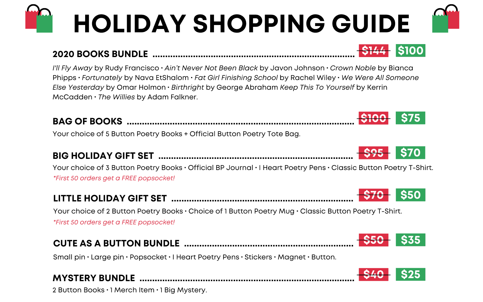 2020 Holiday Shopping Guide