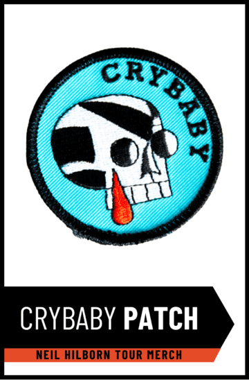 "Neil Hilborn ""Crybaby"" Patch"