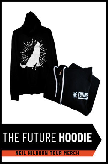 "Neil Hilborn ""The Future"" Hoodie"