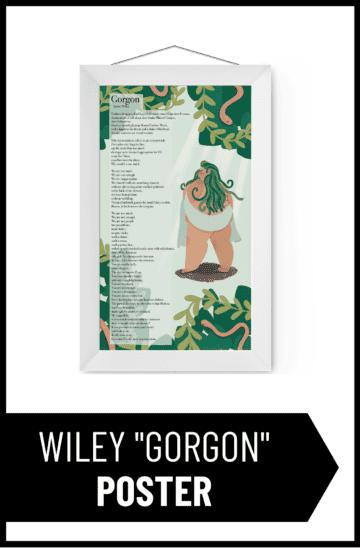 """Rachel Wiley """"Gorgon"""" Poster"""